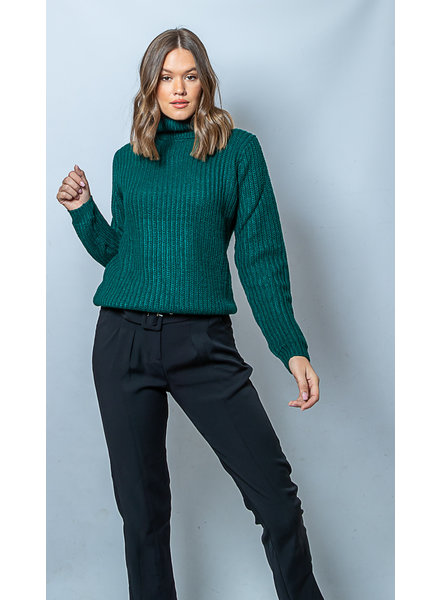 RC RC Tinelle Rollneck Knit Green Garden