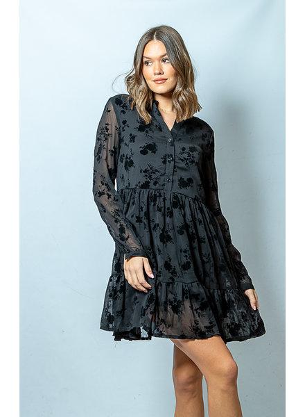 LO Midnight Fling Dress Black