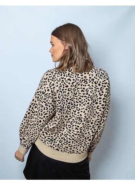 LO Full Of Love Sweater Leopard