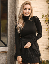 TS Black Coll Sweater