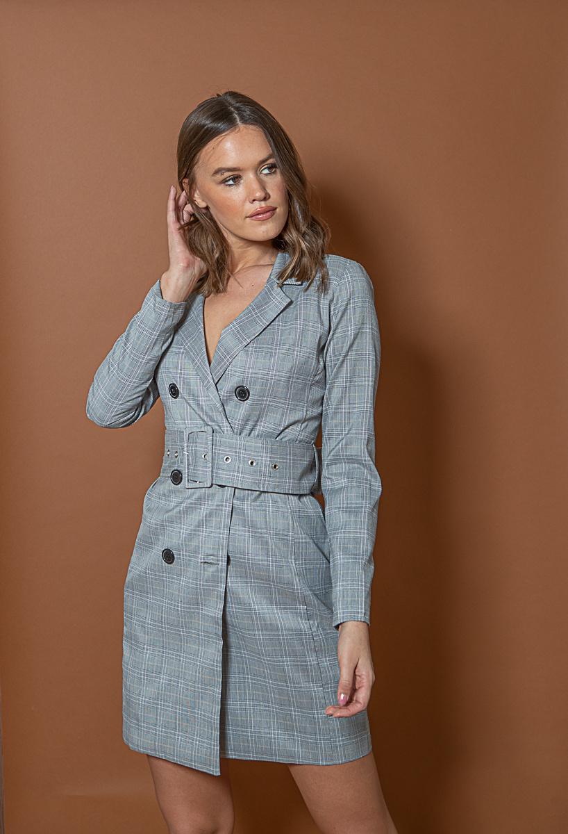 RC Vendela Blazer Dress Check