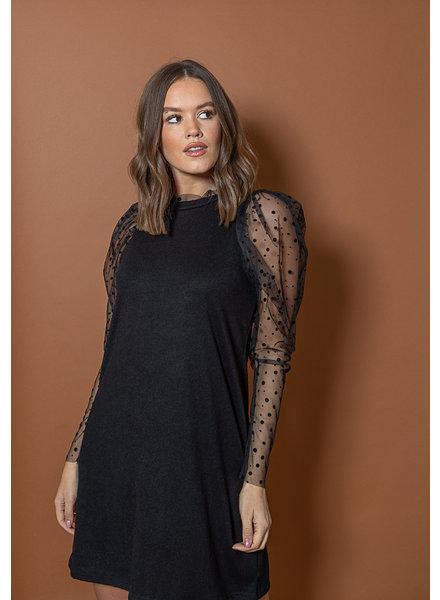 TS Lore Dress Dot Sleeve