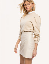 LO Keep Distance Skirt Beige