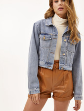 LO Change Your Life Denim Jacket