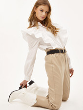 LO Feel The Pressure Blouse White