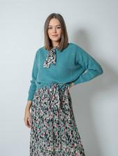 GL Nora Sweater Round Neck Green