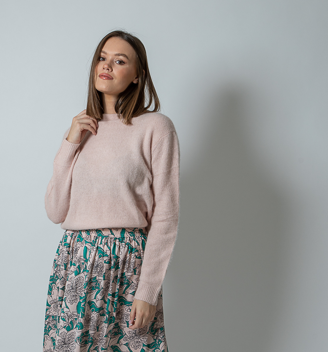 SA Joie Sweater Pale Pink