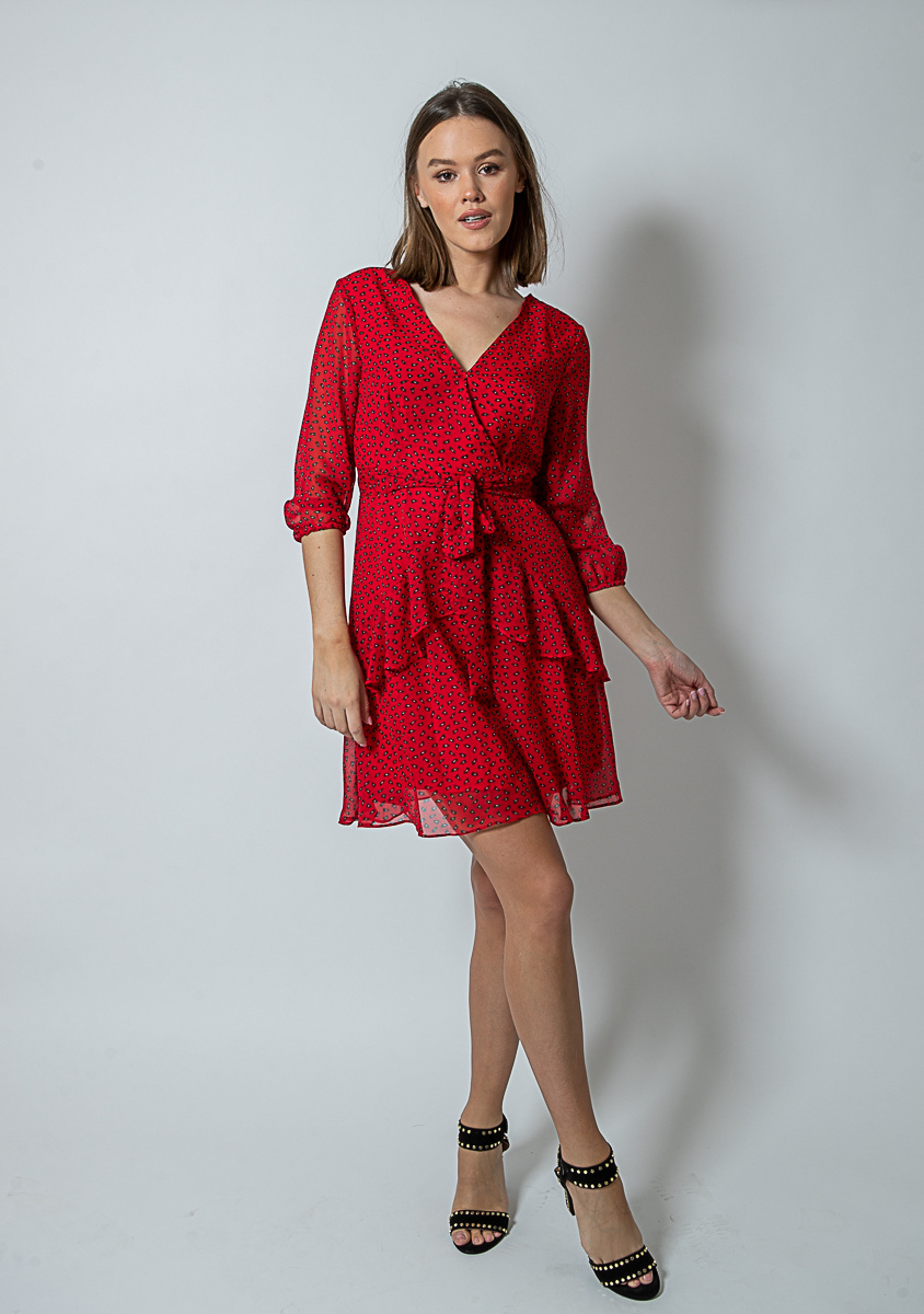 FB Lilly Dress Red