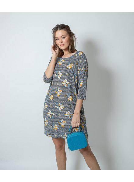 BR Dress Blair Flower Print