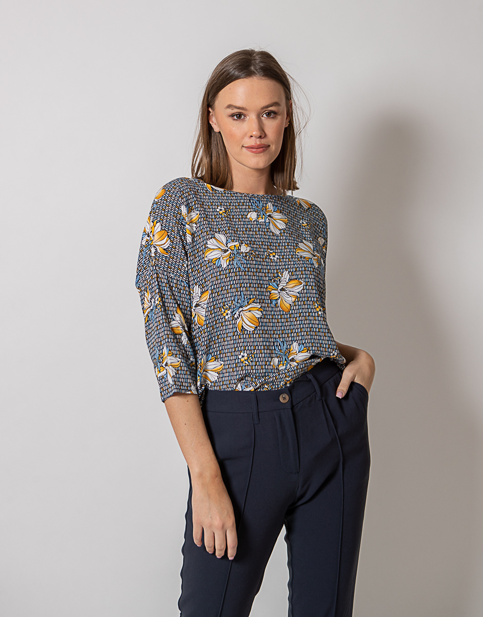 BR Blouse Deeny Print