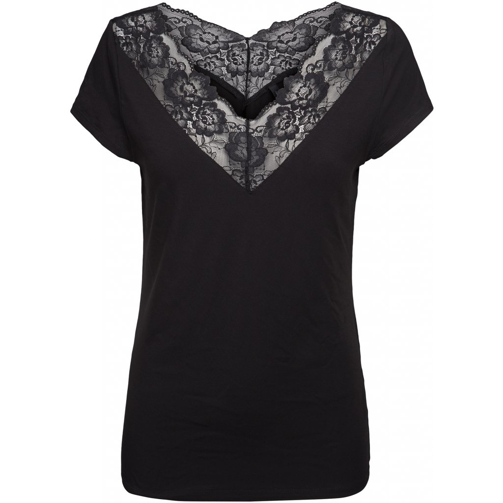 PC Timeless Tee Black Lace