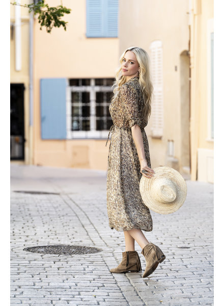 ES Dress Long Shell Print