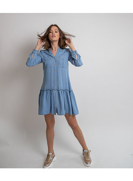 ES Ruffle Tencel Dress