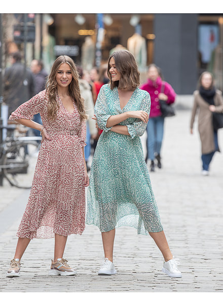 TS Long Dress Print