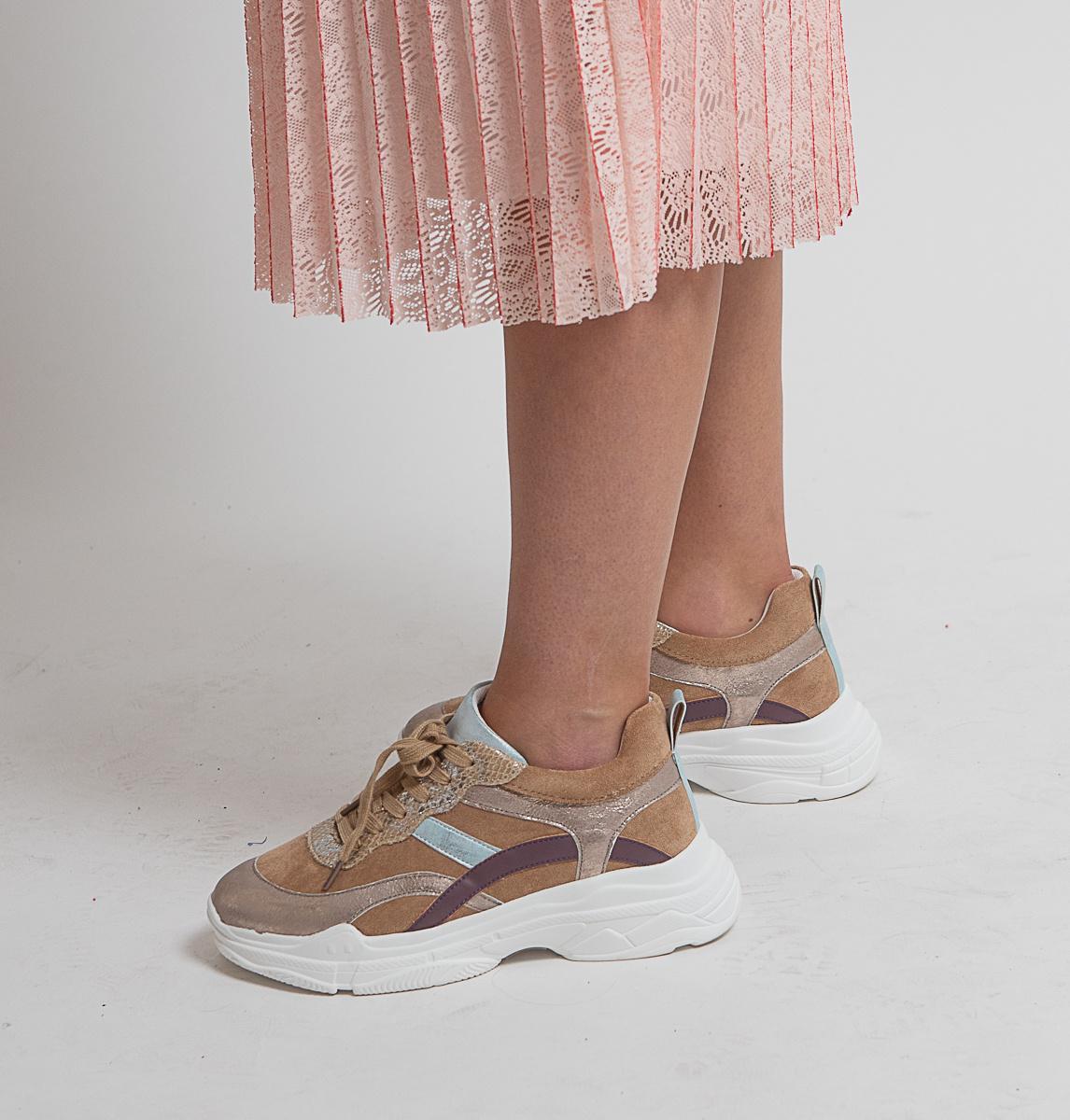 MW Pretty Pastel Sneaker Taupe