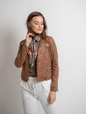 AA Perla Leatherlook Jacket Camel