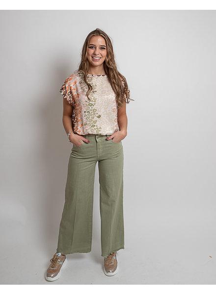 AA Fara Trousers Olive Green