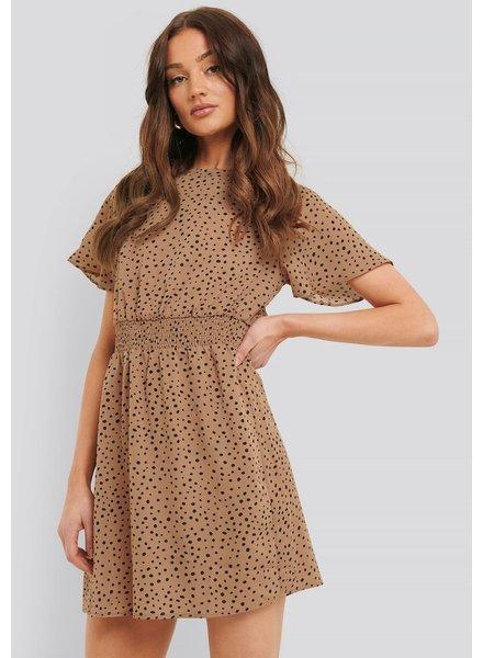 RC Bellora Dress Dark Beige Dot