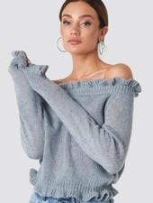 RC Zara Knit Off-Shoulder Knit