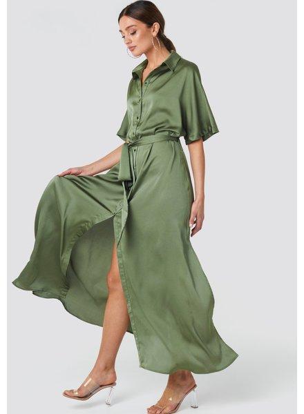 RC Tilde Long Dress Kakhi
