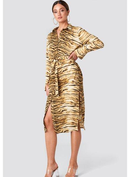 RC Sofi Shirt Dress Tiger