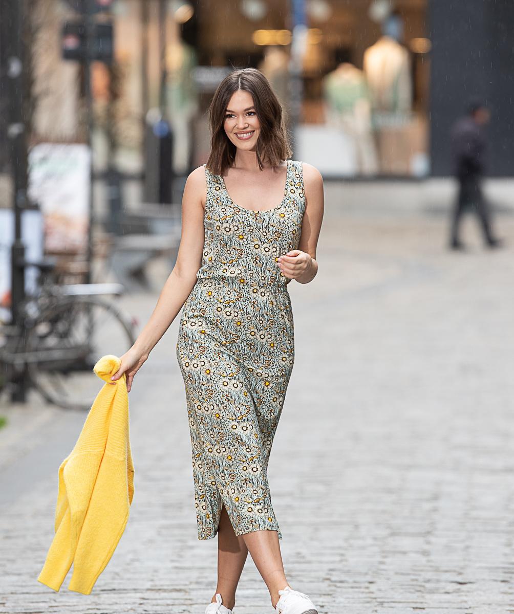 WS Lora Blue Yellow Dress