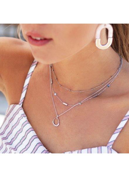 MJ Double Tiny Necklace