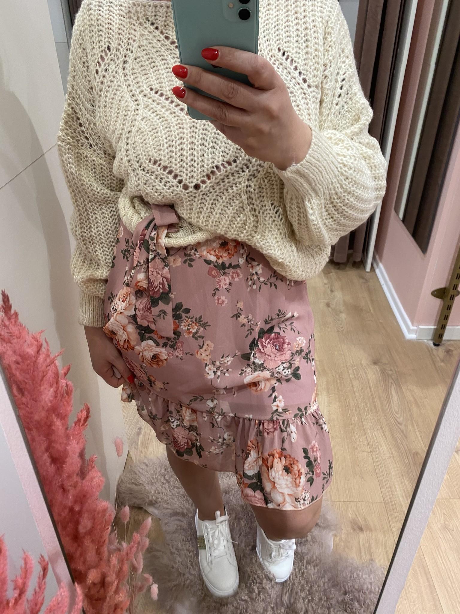 TS So Pretty Dress Pink Flowers