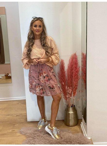 GL Jelle Knit Wide Sleeve Light Pink