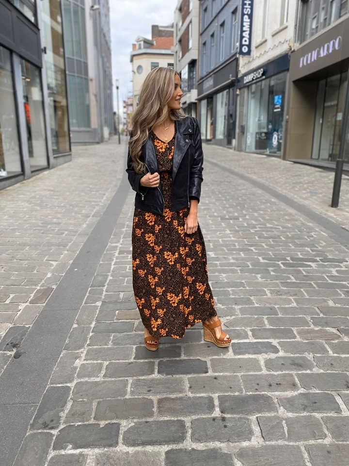 AA Perla Leatherlook Jacket Black