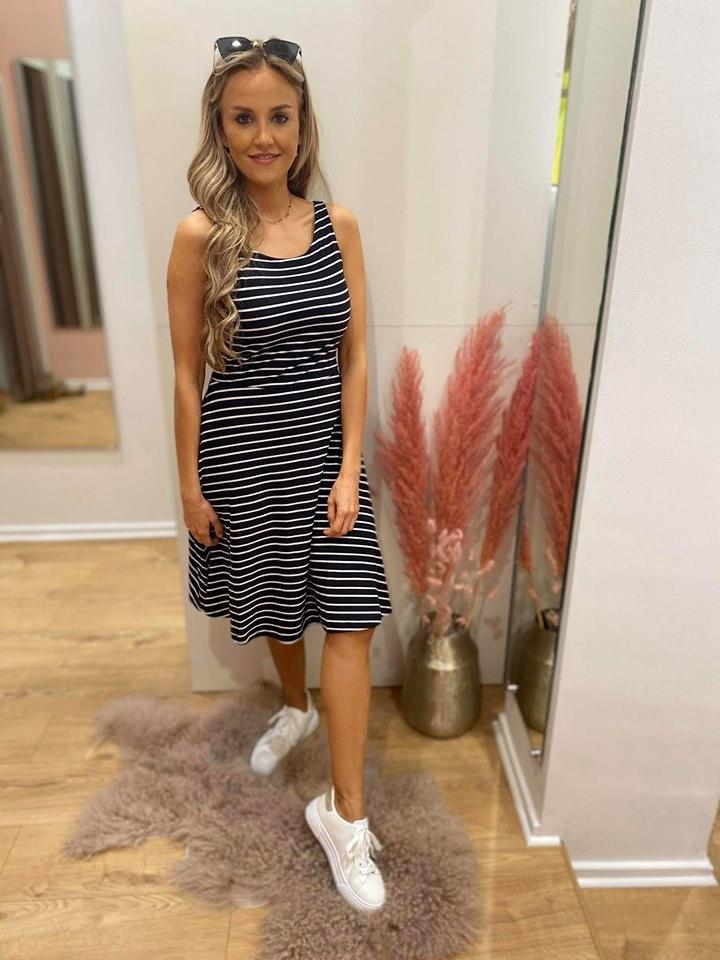 BR Malou Dress Stripes