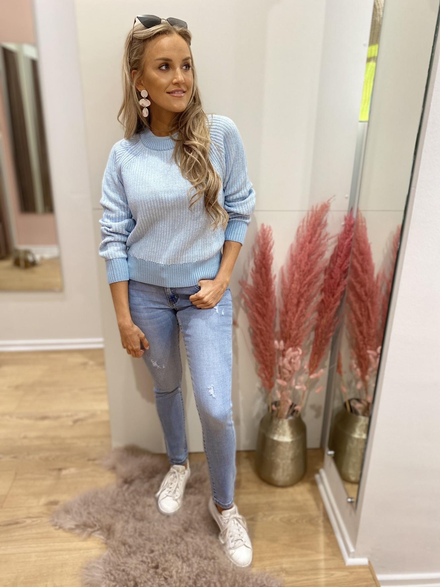 AL Lucy Blue Sweater