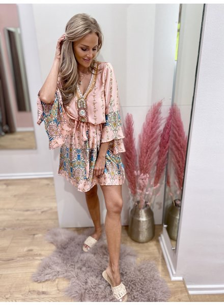SL Ibiza Inspired Dress Pink