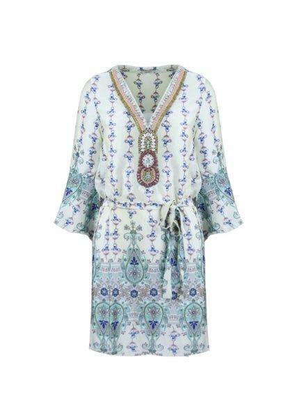 SL Ibiza Inspired Dress Creme