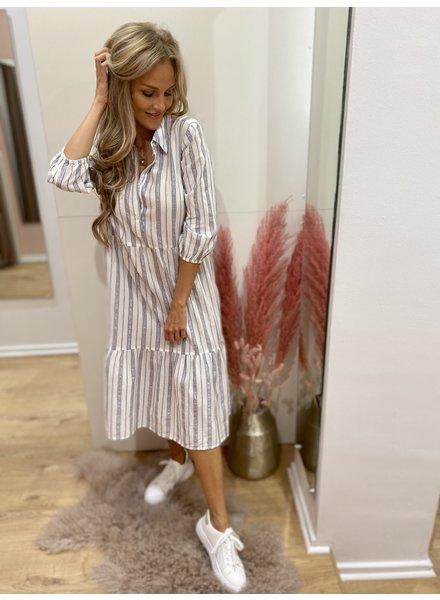 PR Noémie Shirt Dress Lurex