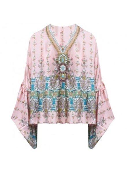 SL Ibiza Inspired Blouse Pink