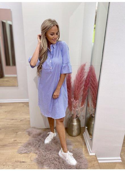 PR Aurélie Shirt Dress Stripes