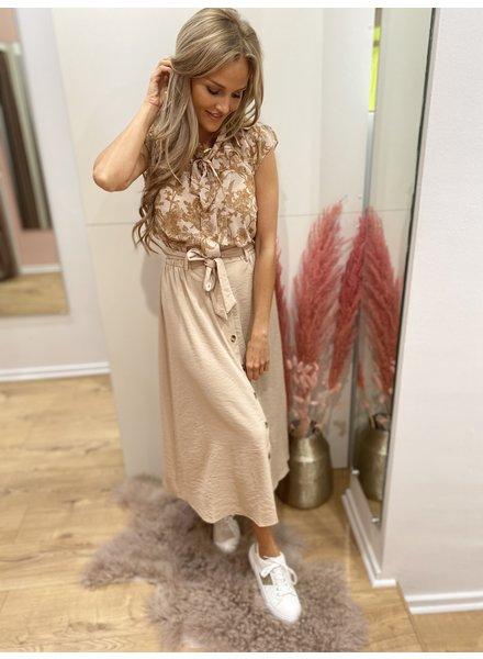 PR Eva Long Skirt Sand