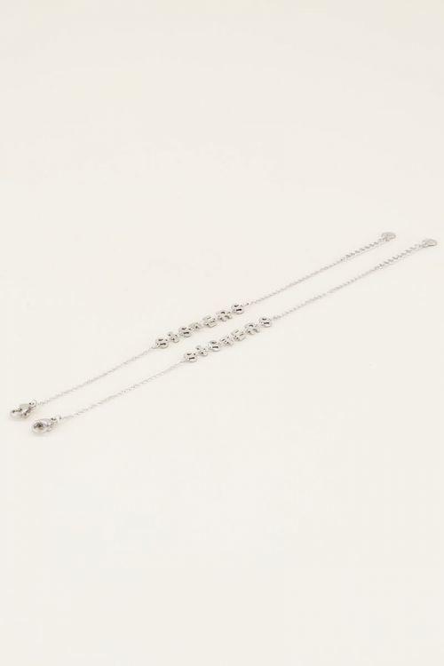 Armbanden Setje Sisters Goud/Zilver