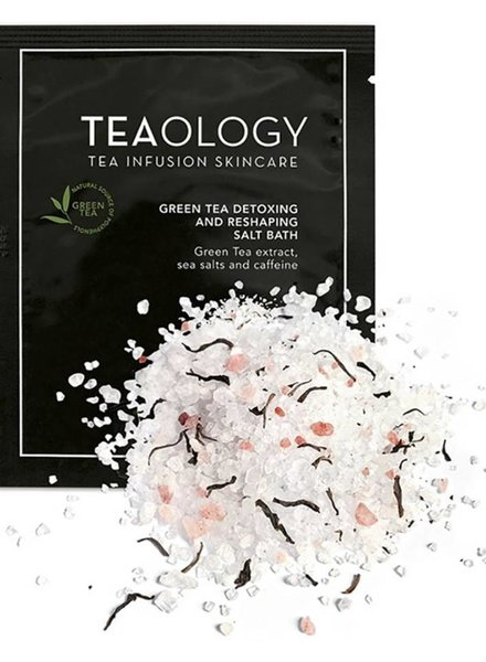 TL Teaology Green Tea Detoxing 1 Reshaping Bath Salt 50 gram