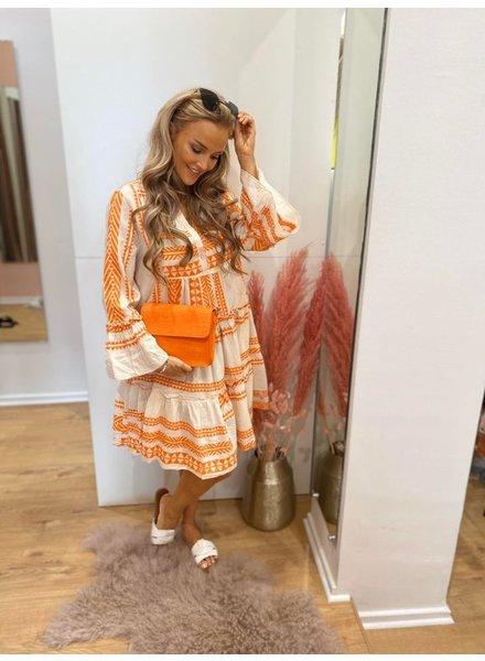 PC Elora Ibiza Dress Cotton Orange