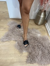 PB Trendy Black Slippers