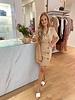 RC Emma Button Dress Sand
