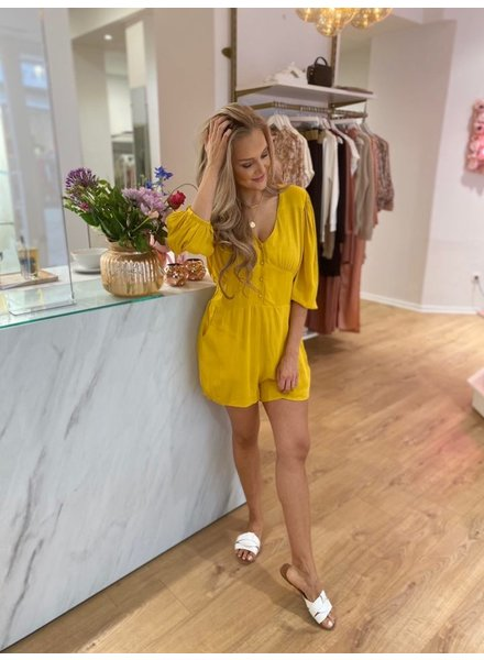 RC Indra Playsuit Ochre