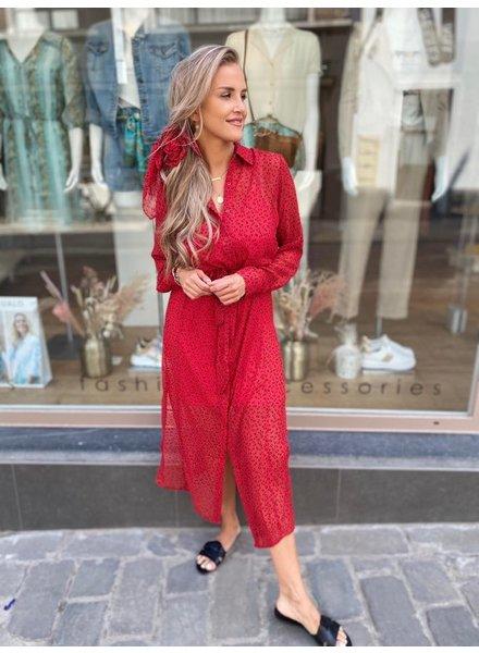 FB Haley Dress Red