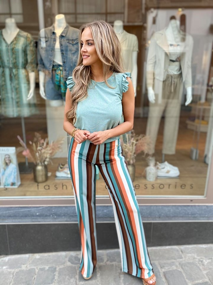 AA Christina Trousers Stripes