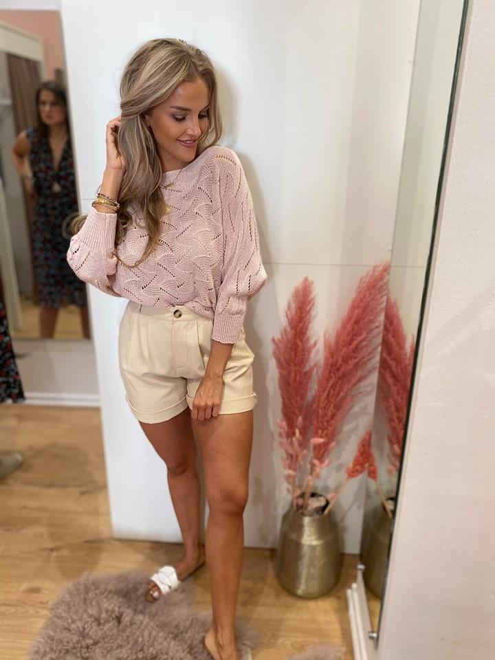 TS Giada Sweater Pink Bow