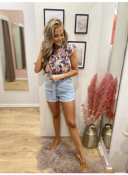 Flower Up Blouse Pink