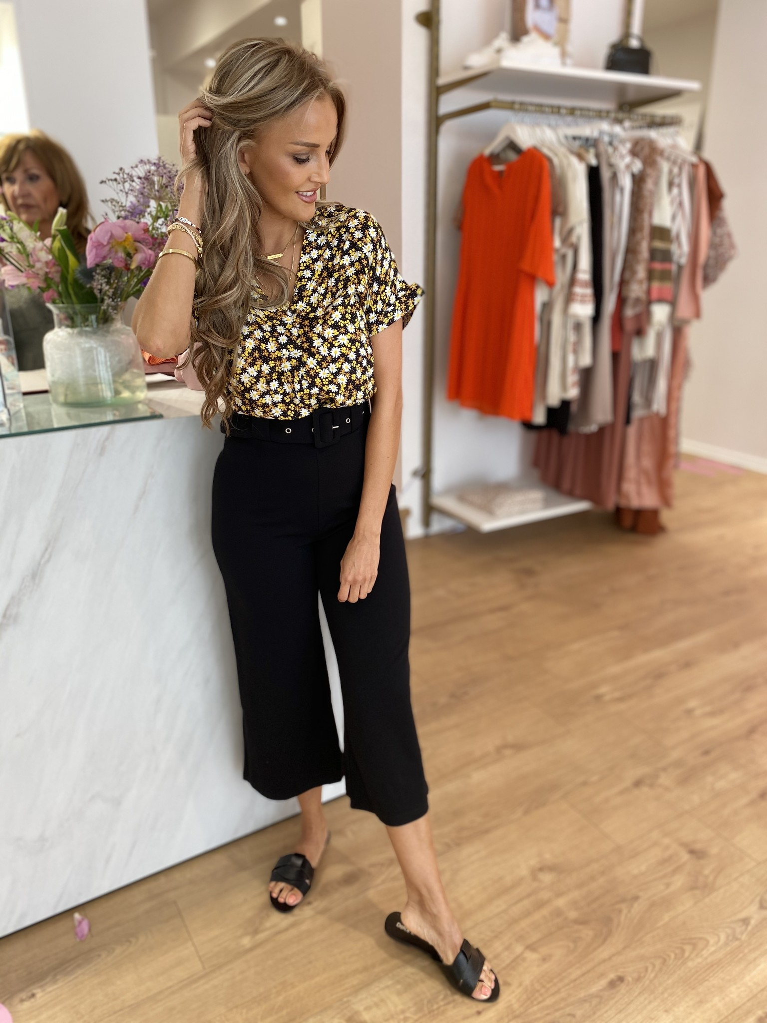 LM Ellia Black Trousers