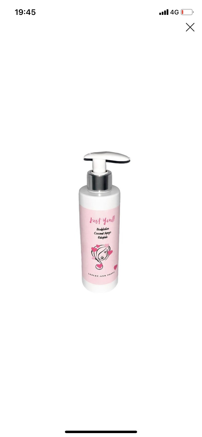 PP Body Lotion Lesley-Ann X Just Yentl